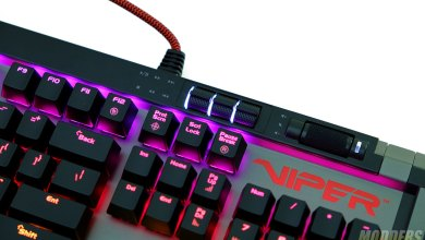 Patriot Viper V770 Keyboard Review