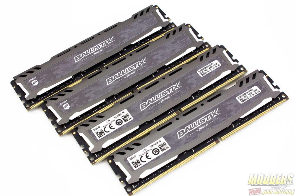Crucial Ballistix Sport LT 4x8GB 2666MHz DDR4 Review