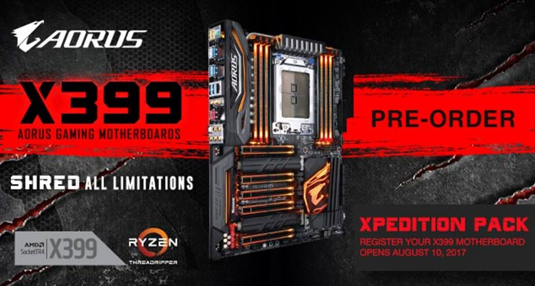 Gigabyte Now Accepting Pre-orders for X399 Motherboards