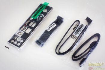 MSI X370 Krait Gaming AM4 Motherboard Accessories