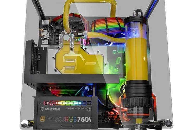 Thermaltake-CORE-P1-Yellow