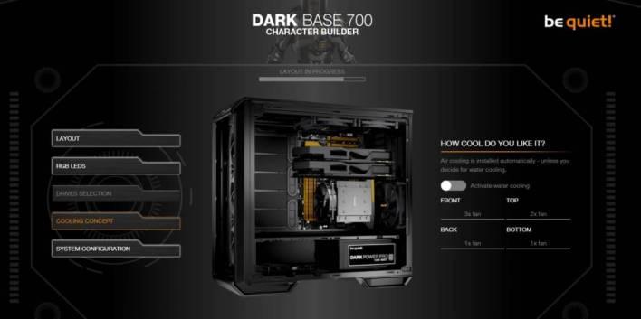 Dark Base 700 inverted