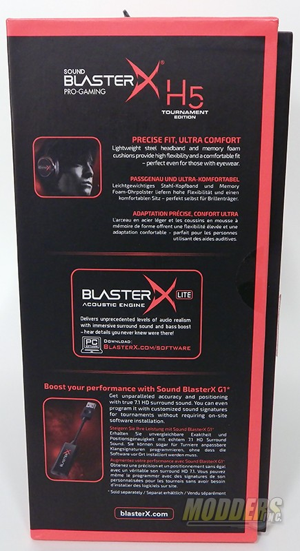 Creative Sound Blaster Pro-Gaming H5 Tournament Edition