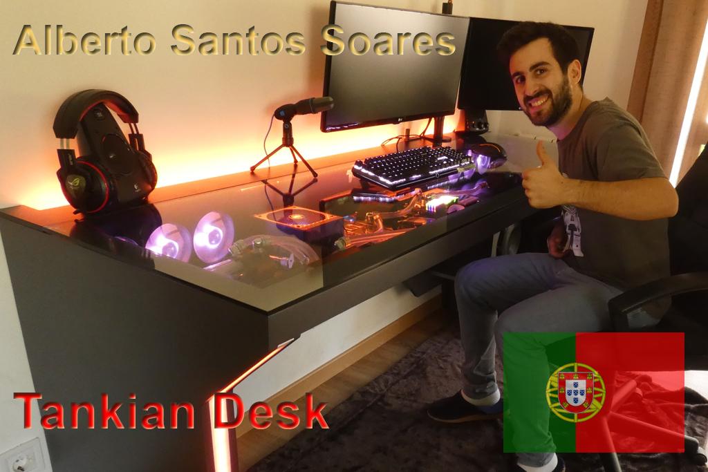 """Modders Spotlight: Alberto Santos Soares """"Tankian the Man"""" & TankianDesk"""