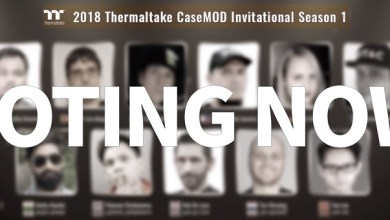 Thermaltake 2018 CaseMOD Invitational Season 1 Final Voting Event Live Now