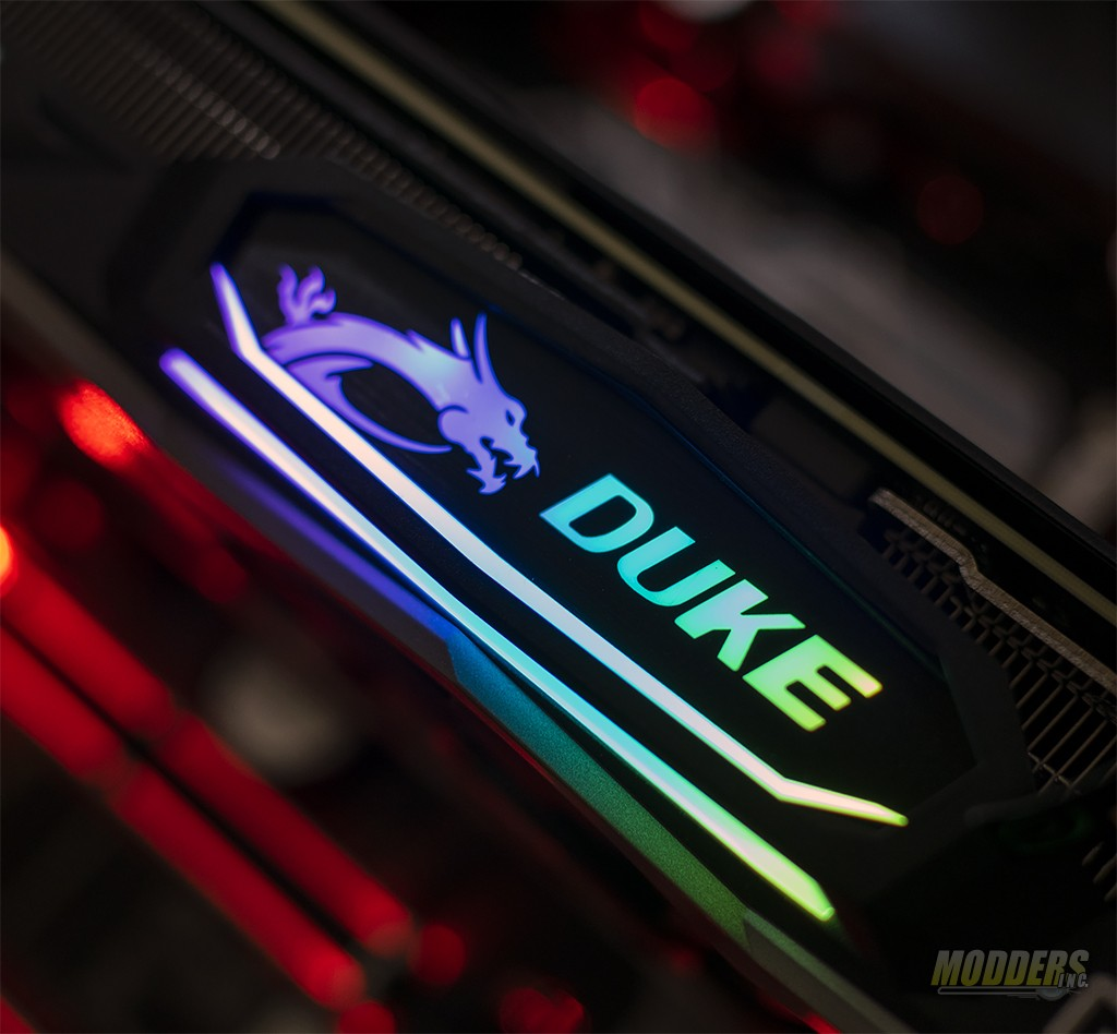 MSI GeForce RTX 2080 Duke 8G OC Graphics Card Review