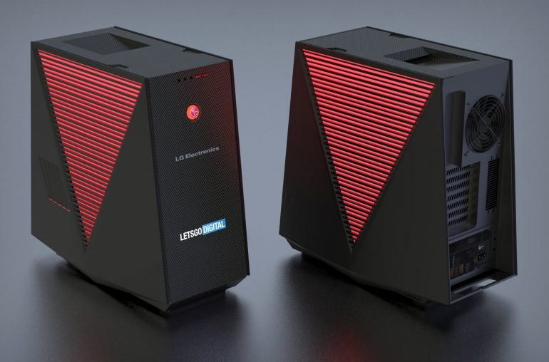 LG Gaming PC and Case