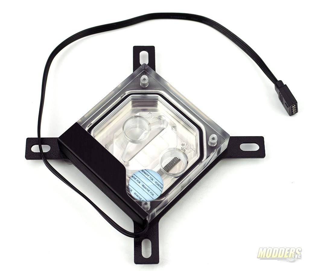 EKWB-Supremacy Classic RGB - Nickel + Plexi Waterblock Review