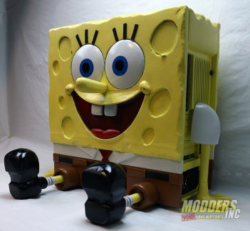 SpongeBob PC Case Mod-_09