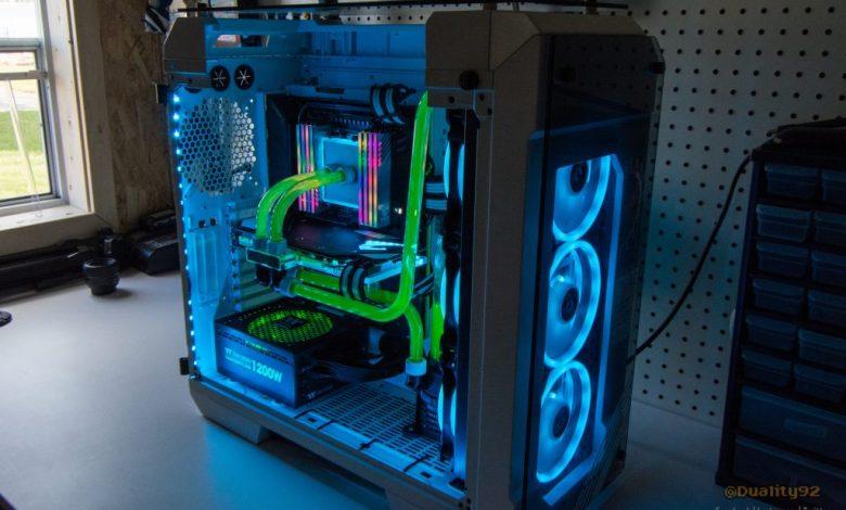 Photo of Aorus TRX40 Xtreme CES 2020 Case Mod Build