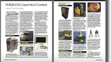 Photo of NVIDIA ION Contest in CPU Magazine