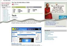 Top 100 Web Sites by PC Mag