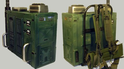 Quake Wars Radio Pack Case Mod
