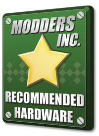 Modders-Inc Recommended Hardware Award