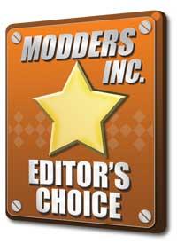 Modders-Inc Hardware Editors Choice Award