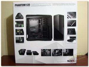 NZXT Phantom 630 box rear