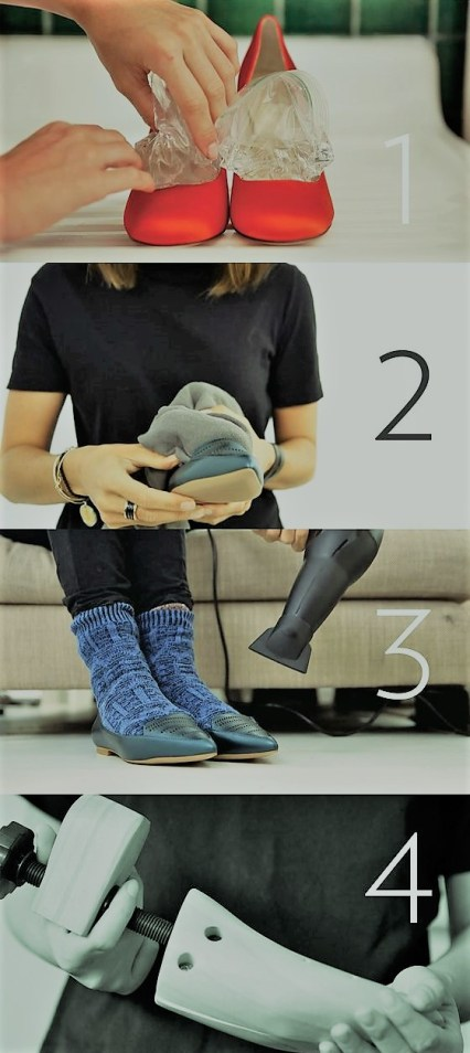 assouplir des chaussures