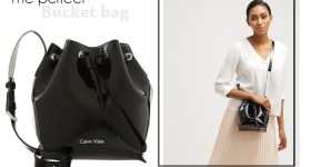 CALVIN KLEIN FLOW BUCKET BAG