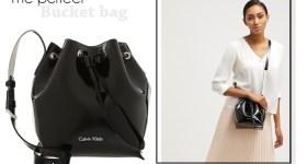 CALVIN KLEIN FLOW BUCKET BAG
