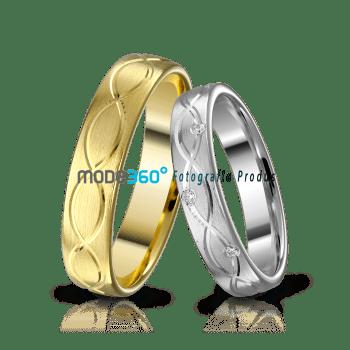 fotografie de produs profesionala bijuterii verighete aur