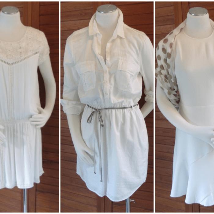 Das kleine Schwarze war gestern – Warum Sie jetzt ein weißes Kleid brauchen!