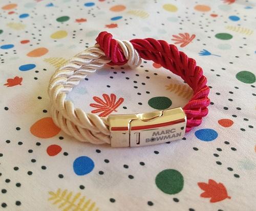 De jollis bracelets en corde