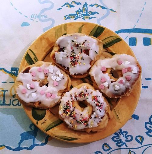 Donuts glacés