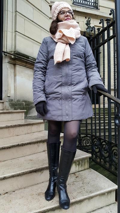 Un manteau Damart tout chaud