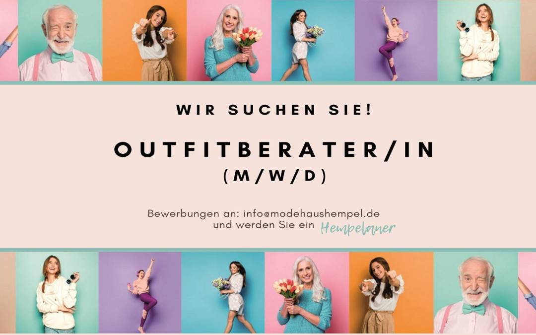 Outfitberater/in (m/w/d) – Teilzeit