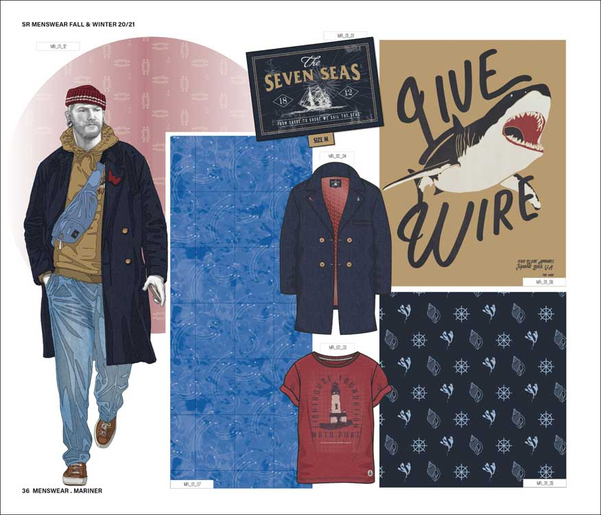 Style Right Menswear Trendbook A/W 2020/2021 incl. USB ...