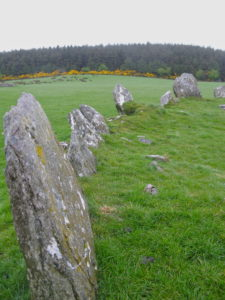 Stone Circle in Raphoe, Ireland