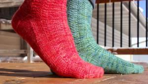 Diana's Quiver Sock by Ellen Silva