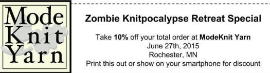 A coupon for your shopping pleasure!