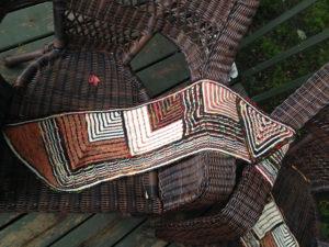 Brahmin Moth, Mitered Squares