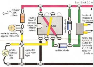 Train Detector Using A Photocell