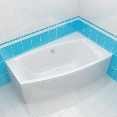 Bath 3d-model Cersanit Virgo 150 R