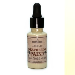 Weathering paint airfield dust
