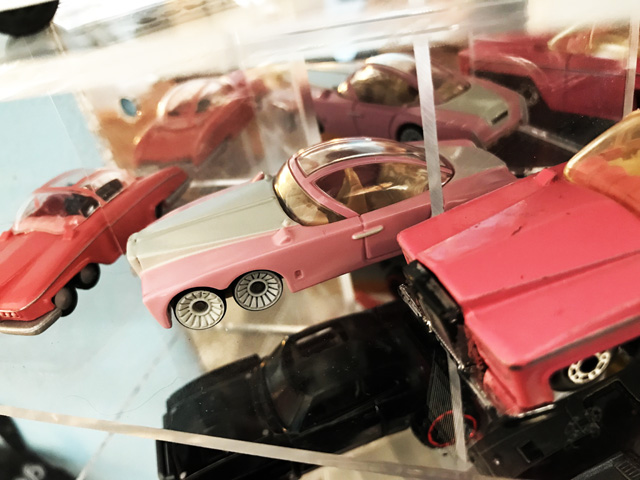 A Lady Penelope's FAB1 in Fireball's diecast collection