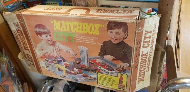 Matchbox City Set with original reseller carton