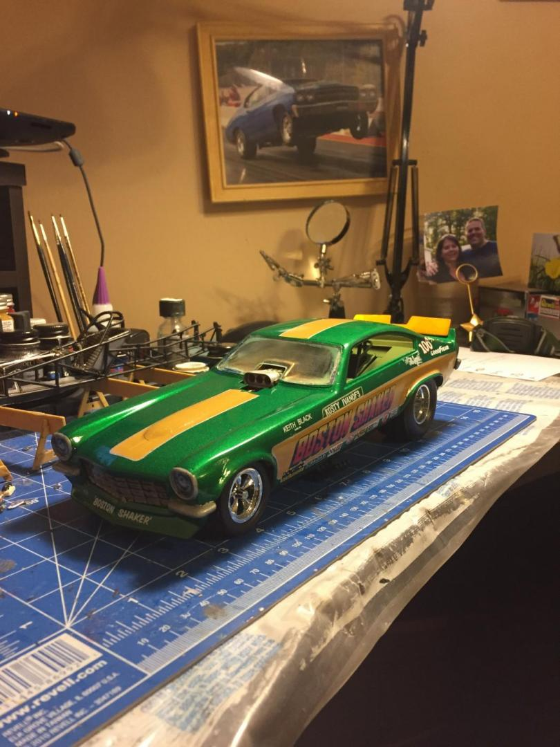 Some 1 16 Funny Cars And Dragsters I Built Drag Racing Models Model Cars Magazine Forum