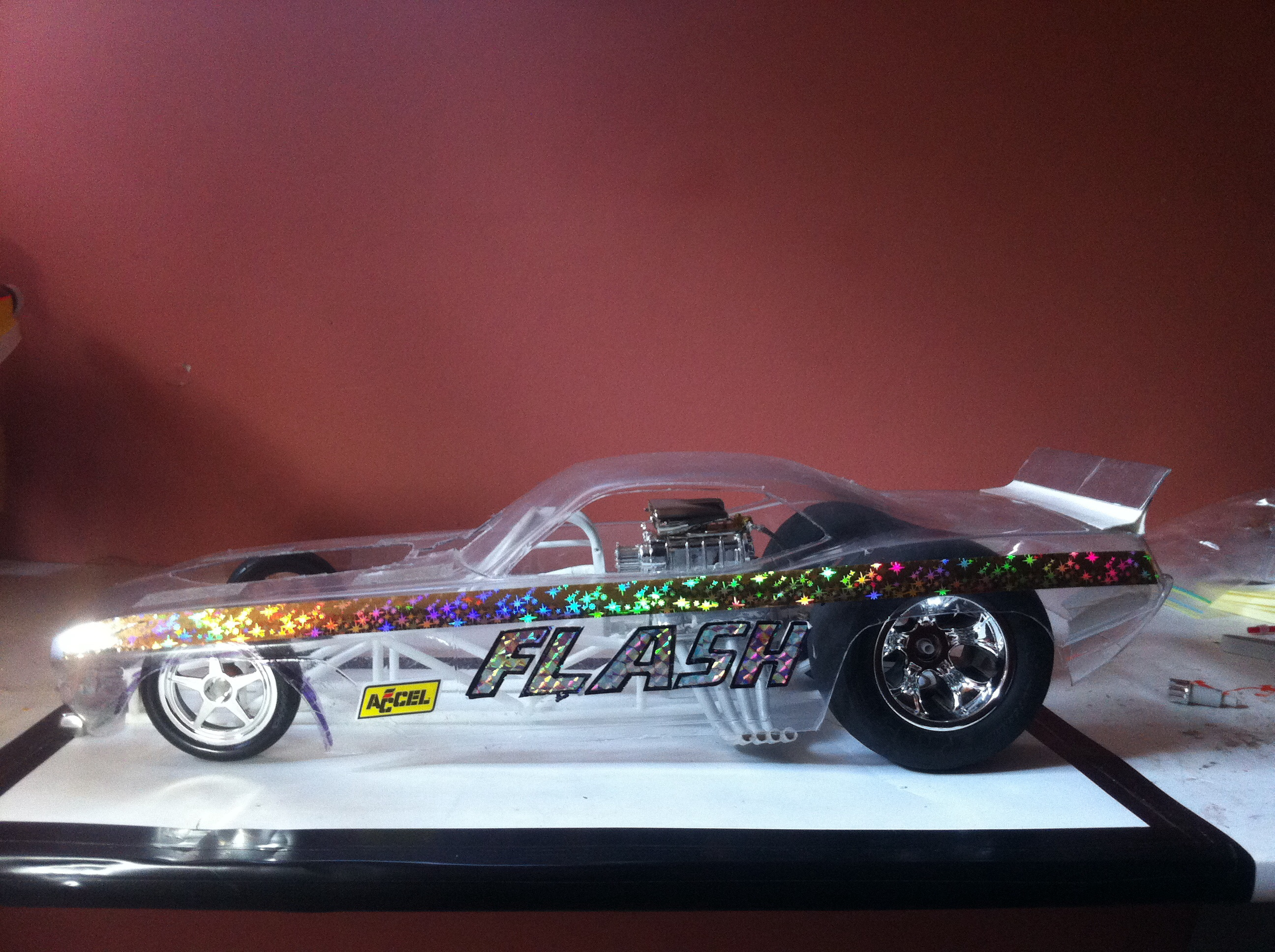 Scratch Building 2 1 8 Scale Funny Cars Drag Racing