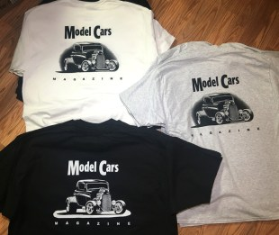 Model Cars Magazine New T-Shirts for 2018