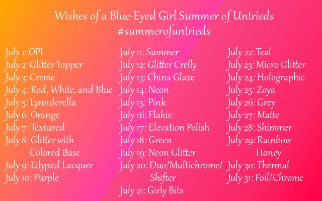 #summerofuntrieds
