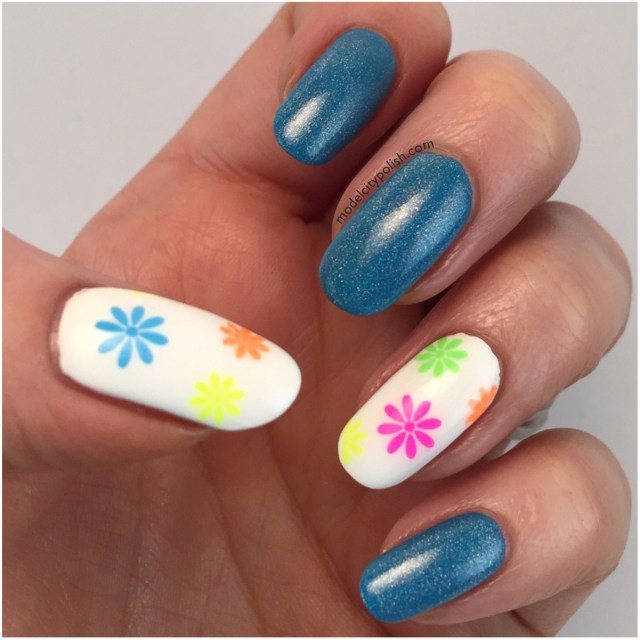 Neon Flowers 3