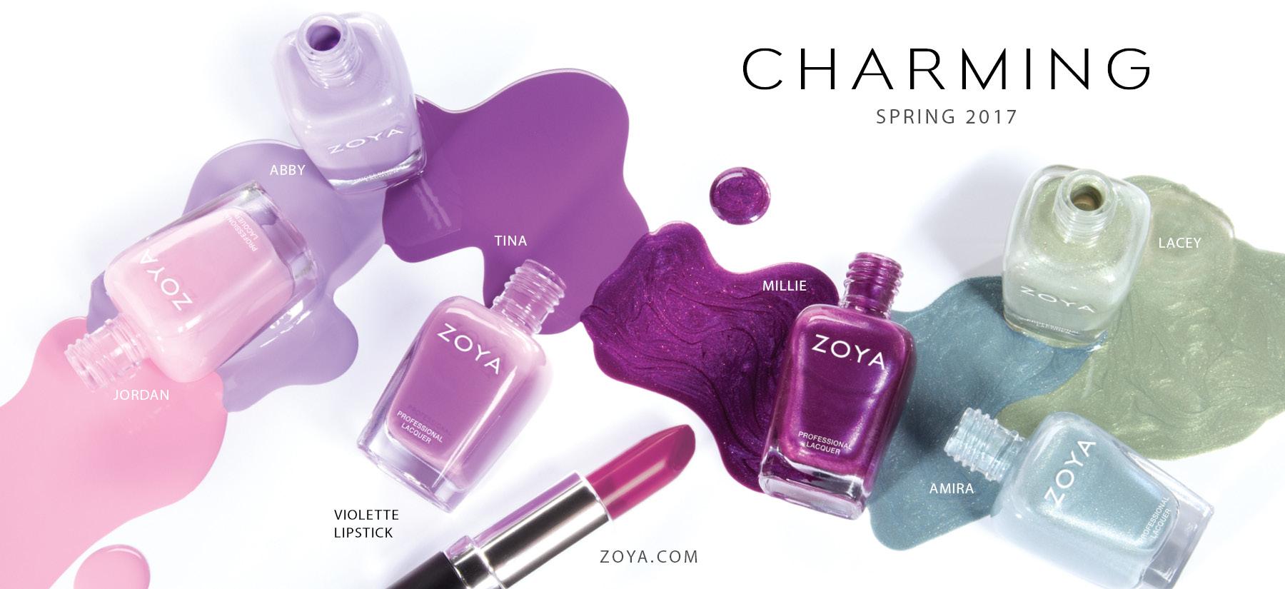Zoya Charming Spring 2017