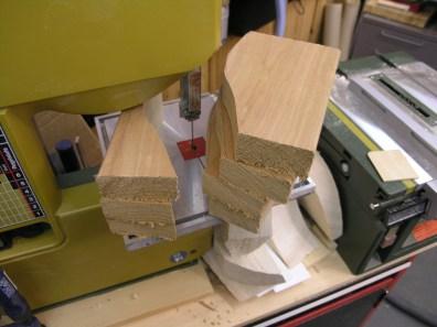 Blocks rough cut