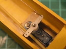 Rudder servo