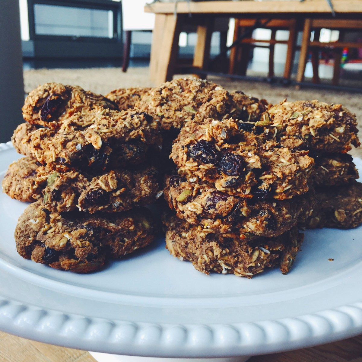 More Raisins! Breakfast Bars