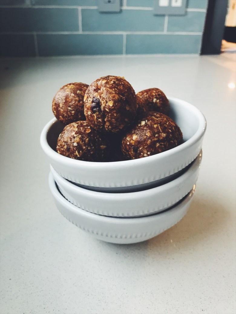 Power Cookie Balls