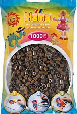 1-000-perles-standard-5-mm-marron-Hama-0